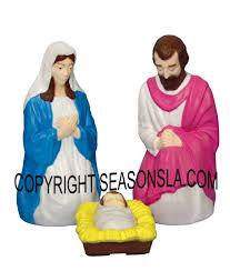 outdoor nativity scene set scenes by general foam plastics corp illuminated light up plastic outdoor lighted nativity s