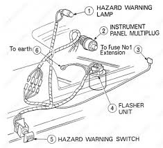 fordopedia org wiring diagrams ford transit mki f o b 09 1968 to 09 1970 hazard