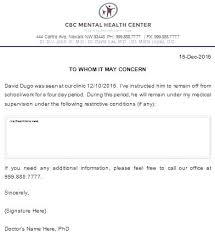 Doctors Note For Work Urgent Care Can I Get A Doctors Note From Urgent Care Letterhead