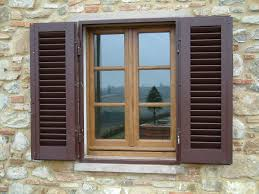 Country window treatments european style rustic window exterior