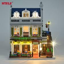 Mtele Brand Led Light Up Kit For 10243 Restaurant House Creator Expert City Street Lighting Kit Not Include Model