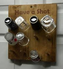 shot glass holder 42 amazing man cave ideas that will inspire you to create your own