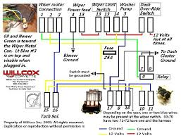 wiper motor wiring corvetteforum chevrolet corvette forum now you can bench test the motor it still in the car i take the bellcrank nut off when i do this so the arms don t move but follow this diagram