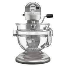 0  Largesize Of Enamour Kitchenaid Kfmsr Stand Mixer Glass Bowl Pearl V