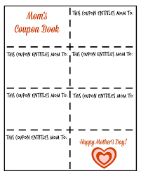 Download Mother S Day Coupon Template Top Template Collection