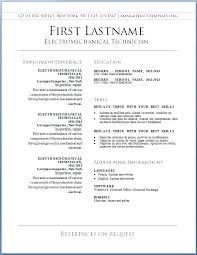 Free Printable Resume Maker