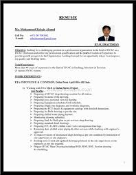 Examples Of Hvac Resumes