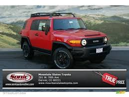 2012 Radiant Red Toyota FJ Cruiser Trail Teams Special Edition 4WD ...