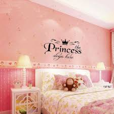 princess wall decor stickers