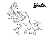 Disegni Di Barbi Da Colorare Disegno Di Barbie Magia Delle
