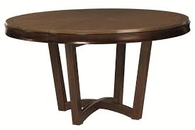 the expandable round dining table for your limited space dining room vintage brown expandable round