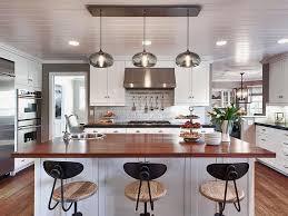 image of kitchen island pendant lighting glass
