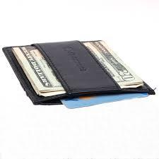 alpine swiss mens minimalist front pocket wallet card case cash strap money clip 0