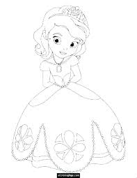 Free Princess Coloring Pages Printable