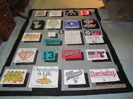 Tee shirt quilt top & Name: Maeghan's t-shirt quilt top 001.JPG Views: 1413 Size: Adamdwight.com