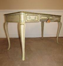 french country office furniture. VINTAGE BAKER MILLING ROAD LADIES\u0027 WRITING DESK, DISTRESSED PAINTED FINISH French Country Office Furniture