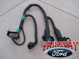 1999 2001 ford f250 f350 super duty 4 7 pin tow trailer wiring 05 thru 07 f 150 oem genuine ford 7 pin trailer tow wiring harness
