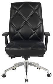 contemporary leather high office chair black. diamond pattern high back bonded leather office chair black contemporary officechairs