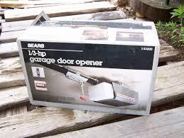 garage door opener searsOld Sears Garage Door Opener  Wageuzi