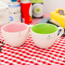 office coffee cups. Aliexpress.com : Buy 1Pcs New KEYAMA Candy Colors Dot Pattern Breakfast Milk Mugs With Spoons Office Coffee Cups Home Decorative Water Gifts From U