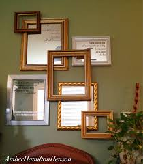 Have spare mirrors and frames? Use them to make a wall collage for greater  impact