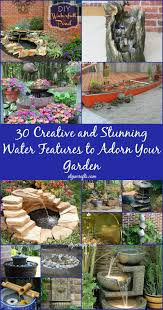 diy backyard water feature. Beautiful Water 30 Creative And Stunning Water Features To Adorn Your Garden On Diy Backyard Feature R