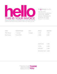 invoice template design invoice like a pro design examples and best practices business