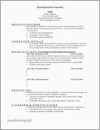 Basic Skills For A Resume Elegant Basic Computer Skills Resume Resume Design