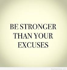 Stronger Quotes Extraordinary Be Stronger Than Your Excuses Fitness Quote
