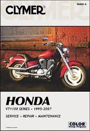 honda vt1100 shadow series repair manual 1995 2007 clymer