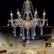 crystal chandelier candle pendant lights living room dining room clothing coffee ceiling lights 6
