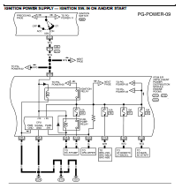 nissan xterra wiring diagram and electrical system  nissan xterra wiring diagram