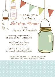 Kitchen Tea Invites Bridal Shower Invitations Free Kitchen Bridal Shower Invitations