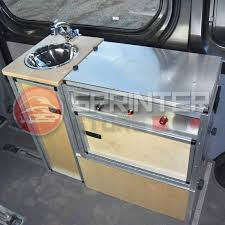 sprinter van kitchen campervan conversion kit