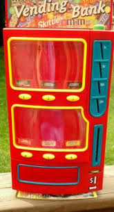 Small Vending Machines Ebay Fascinating Mars Candy Vending Machine Bank Holds Mini Size MM Snickers