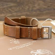 details about cozy handmade style ii vintage 401 leather nato strap 18mm 20mm 22mm