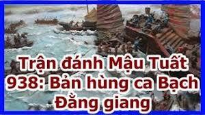 Kết quả hình ảnh cho Trận đánh Mậu Tuất 938: Bản hùng ca Bạch Ðằng giang