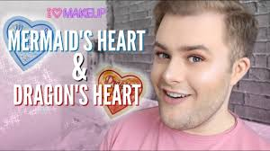 i heart makeup mermaid s heart dragon s heart highlighters review craig william