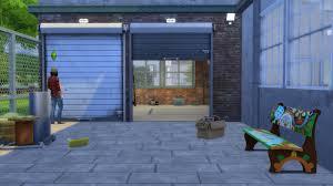 open garage doorMy Sims 4 Blog Open Garage Door by Gatochwegchristel
