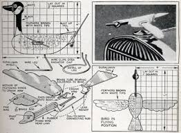 whirligig plans. plans for mechanical flying goose on radiator cap whirligig