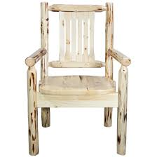 captain s chair with ergonomic wooden seat