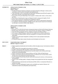 Operations Coordinator Resume Operations Coordinator Resume Samples Velvet Jobs 1