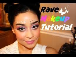 rave makeup tutorial edm festival makeup