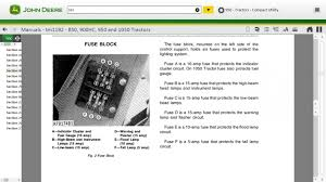 john deere 950 wiring and fuses mytractorforum com the click image for larger version 950 fuse jpg views 517 size