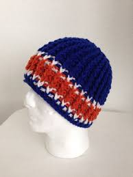 The officially licensed nhl hockey floppy toque is made from a super warm knit hockey sock with a polar fleece lined interior. Pin On Africancrabcrochets