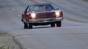 1977 Chevy Monte Carlo classic test drive - YouTube