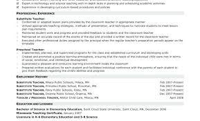 Cool Teacher Resume Template Google Docs Contemporary Example