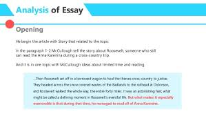 essay analysis no time to by david mccullough 6 analysis of essay