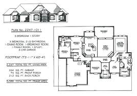 3 Bedroom 2 Bath House Plans Impressive Decoration