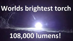 Most Powerful Led Torch Light 1 2kw Worlds Brightest Most Powerful Led Flashlight Torch With 100w Leds 108 000 Lumens
